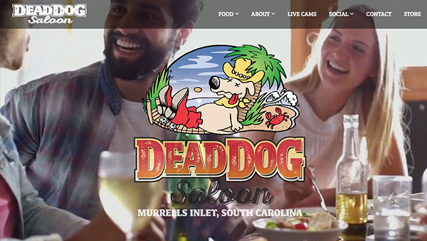 Dead Dog Saloon website