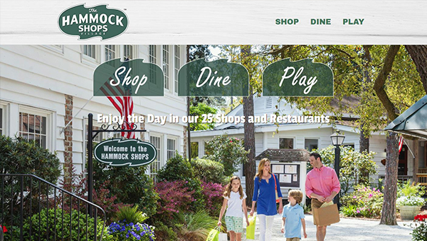 The Hammock Shop website