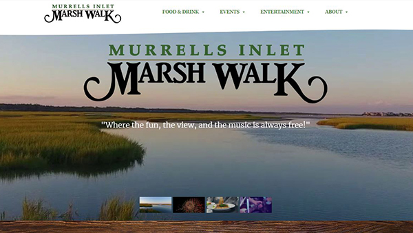 Murrells Inlet Marshwalk website