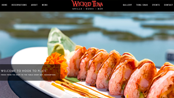 The Wicked Tuna website