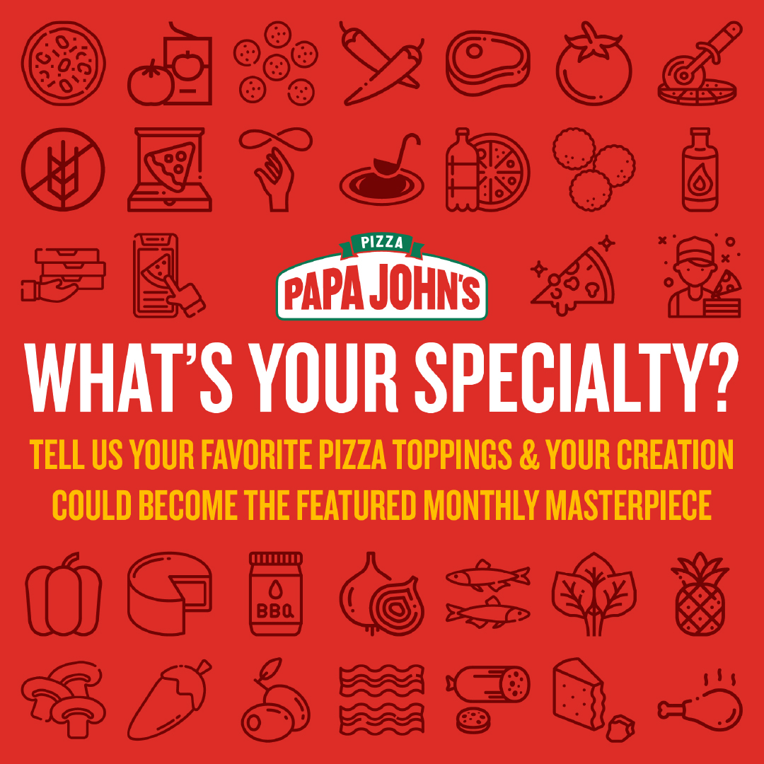 Papa Johns Specialty Graphic