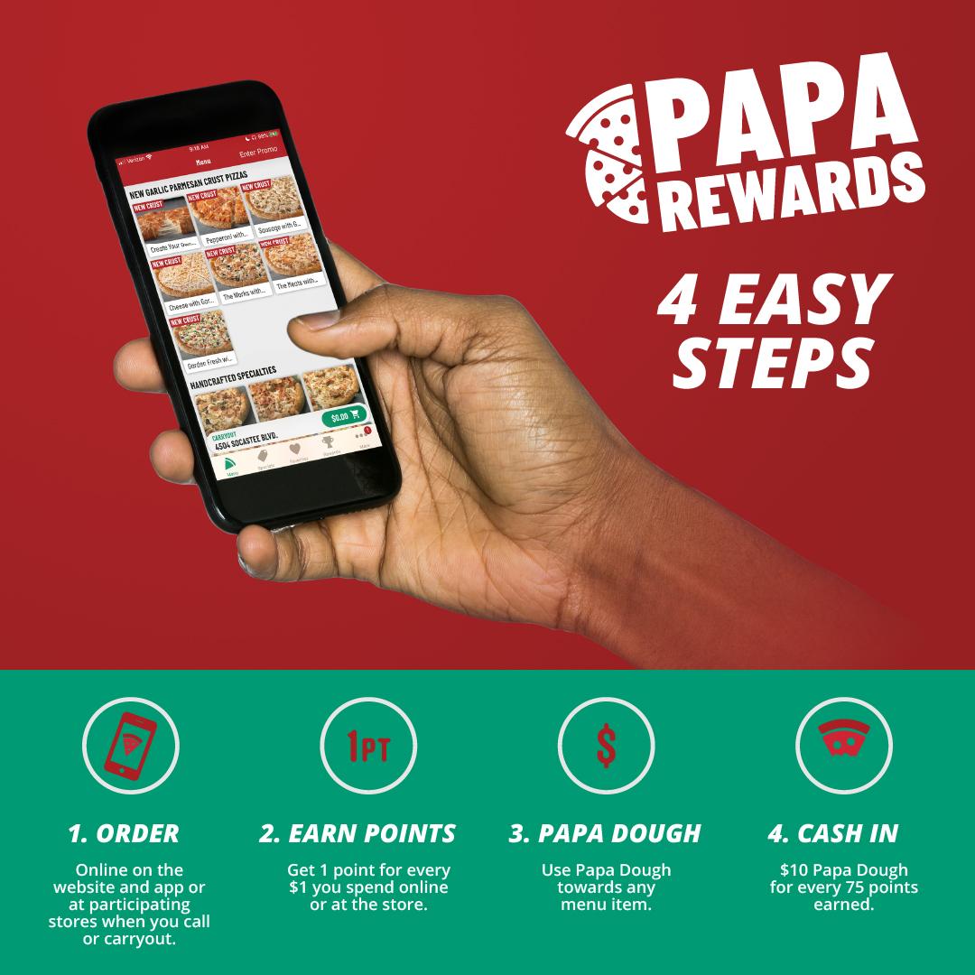 Papa Rewards Ad